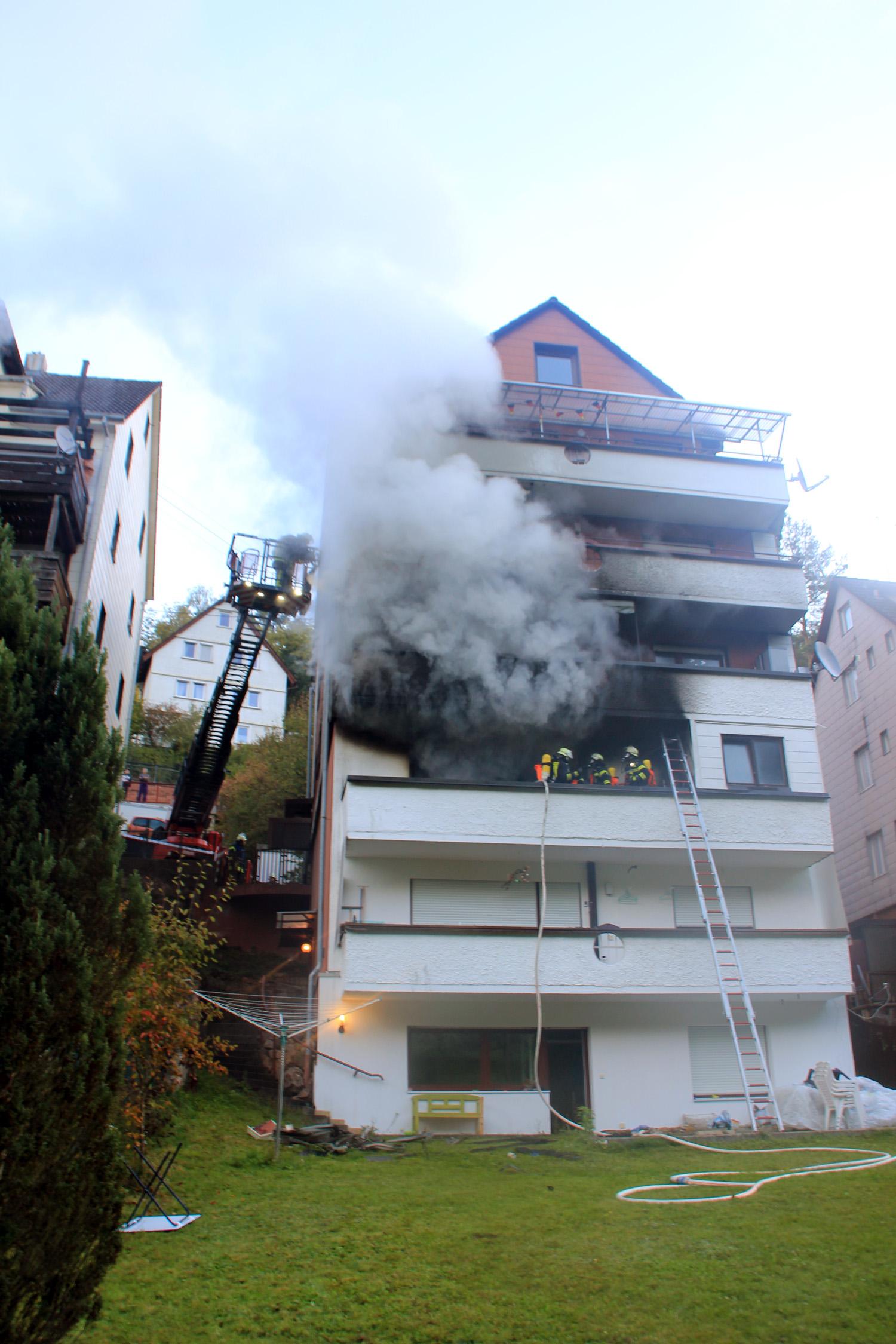 02.10.2018 - Wohnungsbrand