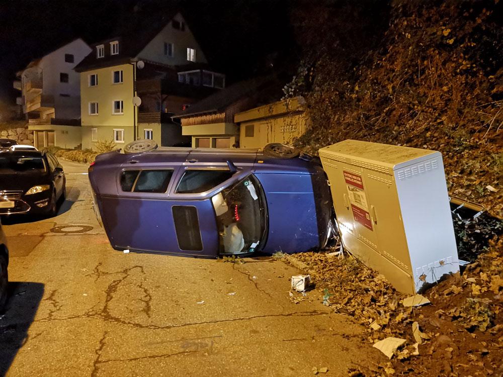 08.11.2018 - Verkehrsunfall