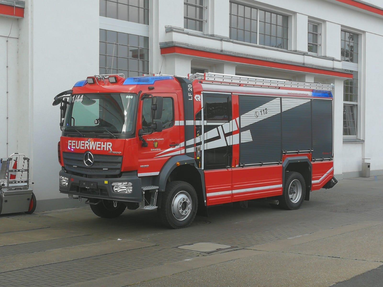 Neues Löschfahrzeug für die Abteilung Schramberg